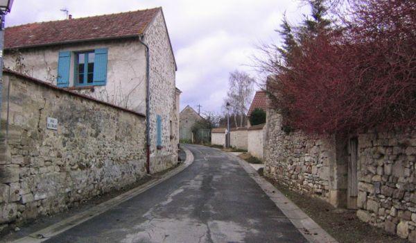 Rue de l'Église, Cléry-en-Vexin